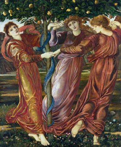 Une autre version du mythe indique qu 39 h racl s se serait for Au jardin des hesperides